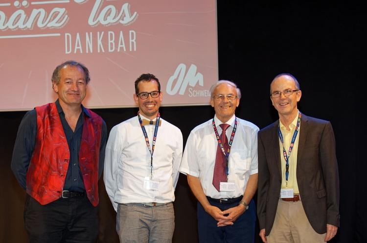 Alte und neue Leiter von OM Schweiz