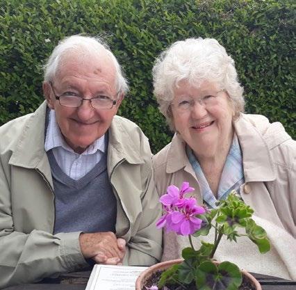 Gerry und Jean Davey