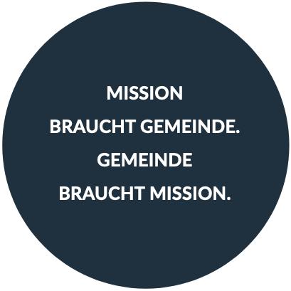 Mission braucht Gemeinde, Gemeinde braucht Mission
