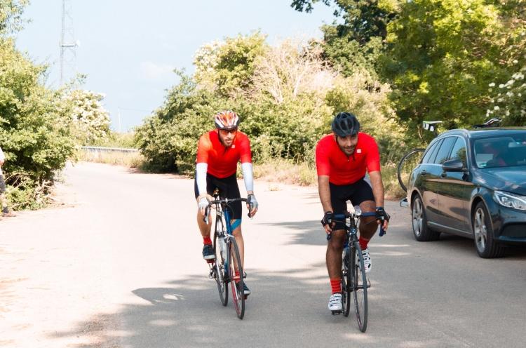 Zwei Radfahrer beim CoronaRide 2020