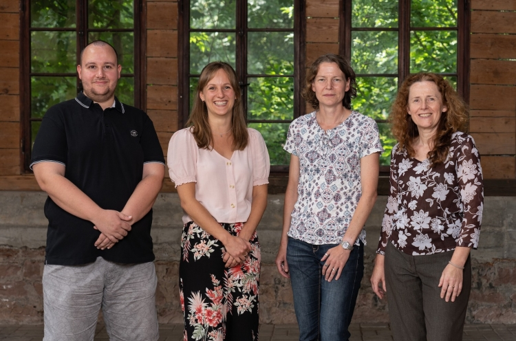 Der neu gewählte Vorstand von Operation Mobilisation e.V.: Cord Bätjer, Stefanie Engelmann, Simone Schwab und Anett Schubert (v. l.), es fehlt Claudia Nikolow