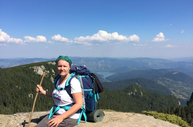 Oxana works with OM in her native Moldova, where she is part of OM's relief ministry and has a special passion for the ministry among vulnerable girls. Together with another Moldovan OM worker, she is preparing to take part in a 'Freedom Climb' in Septemb