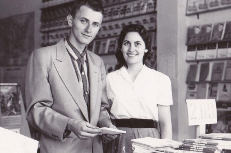 George & Drena Verwer aan het begin van OM.