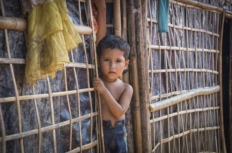 Rohingya vluchtelingkind