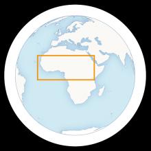 Sahel-map