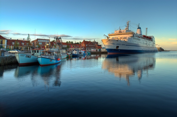 At berth in Køge with the small fishing boats that call this port home. - Koege, Denmark - 20 Jul 2008 - Thomas Brouwer