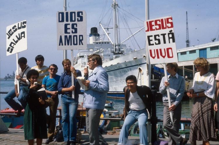Valparaiso Chile - 1982 - Staff Photographer